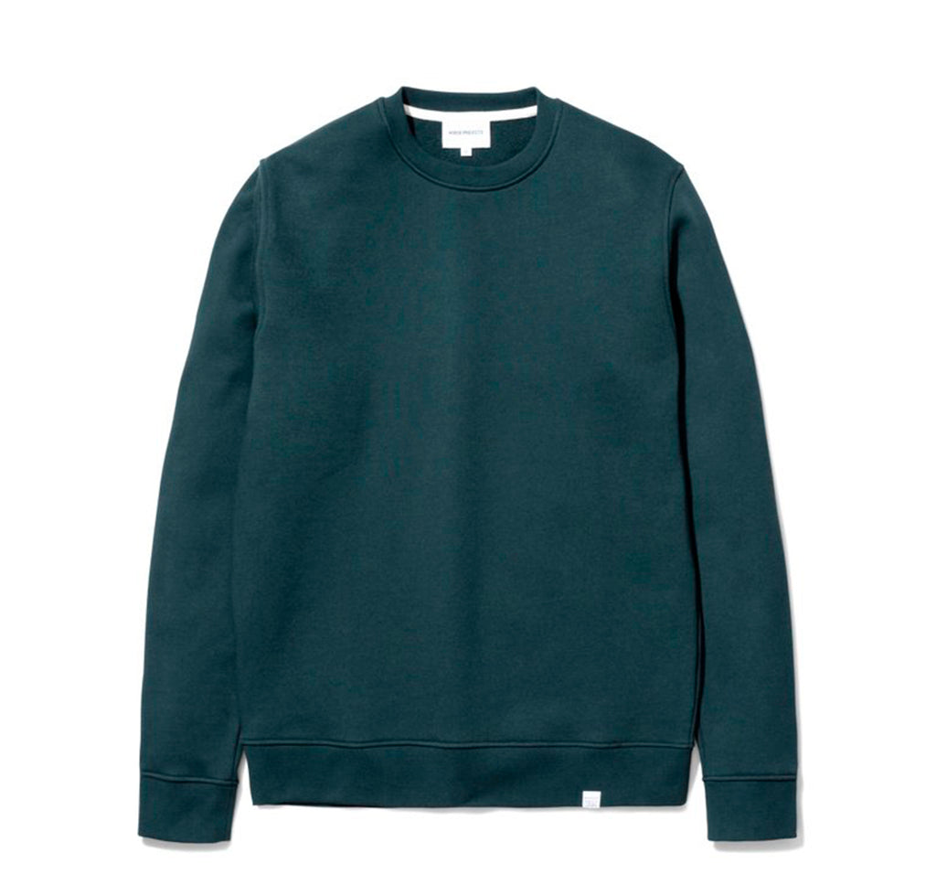 Norse Projects Vagn Classic Crew: Deep Sea Green - The Union Project