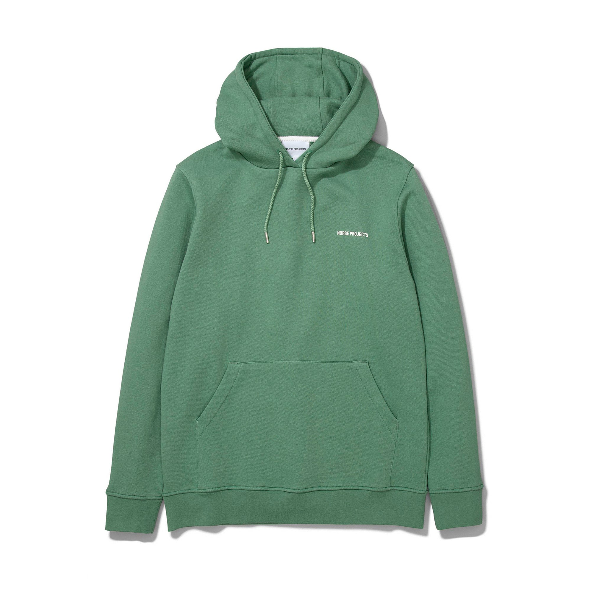 Norse Projects Vagn Norse Projects Logo Hood: Lichen Green - The Union Project