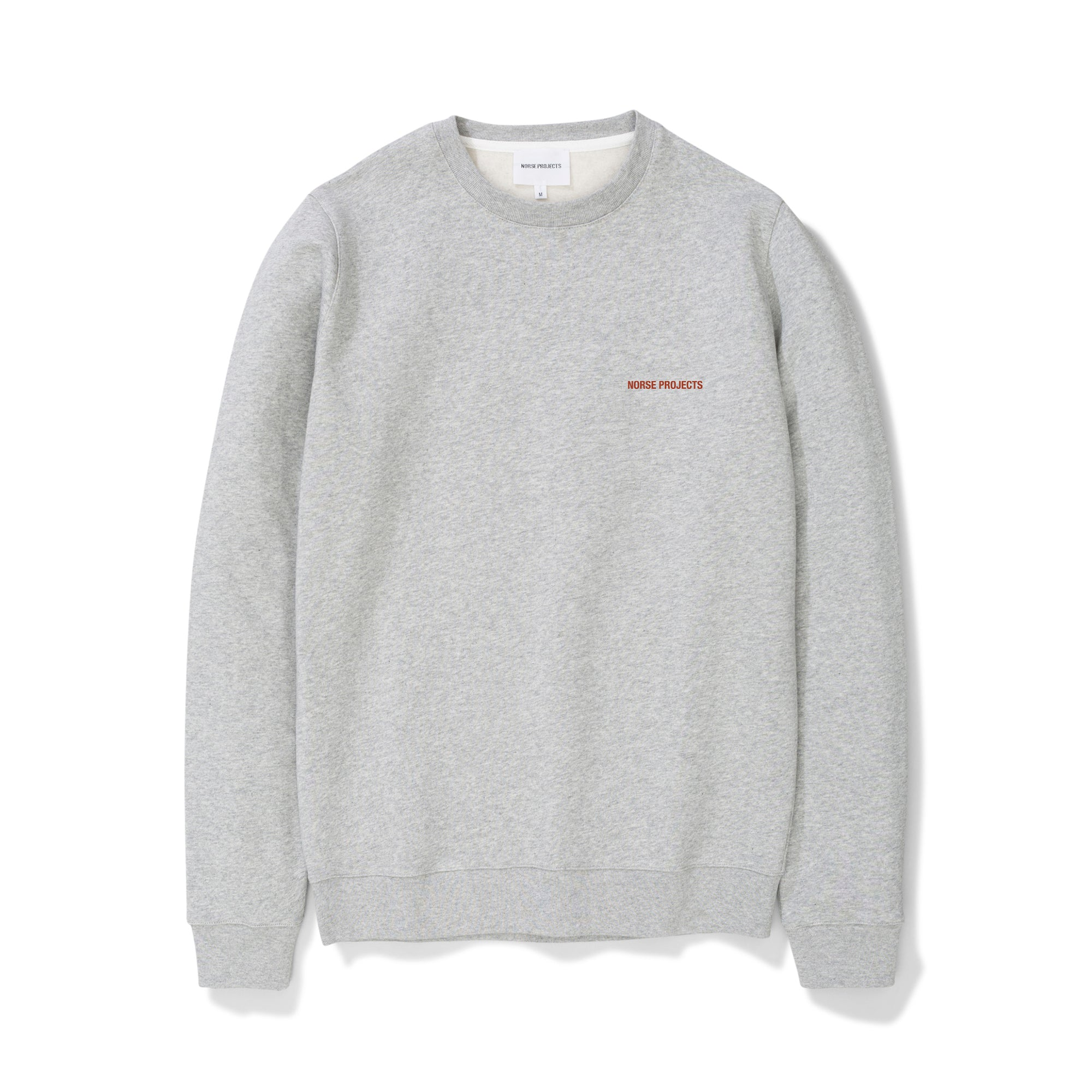 Norse Projects Vagn Norse Projects Logo: Light Grey Melange - The Union Project