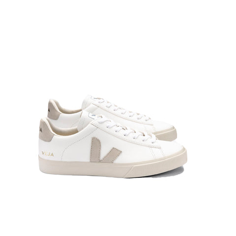 Veja Campo: Extra White / Natural Suede - The Union Project