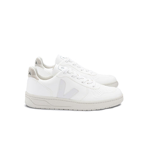 Veja Womens V-10 CWL: White / Natural - The Union Project