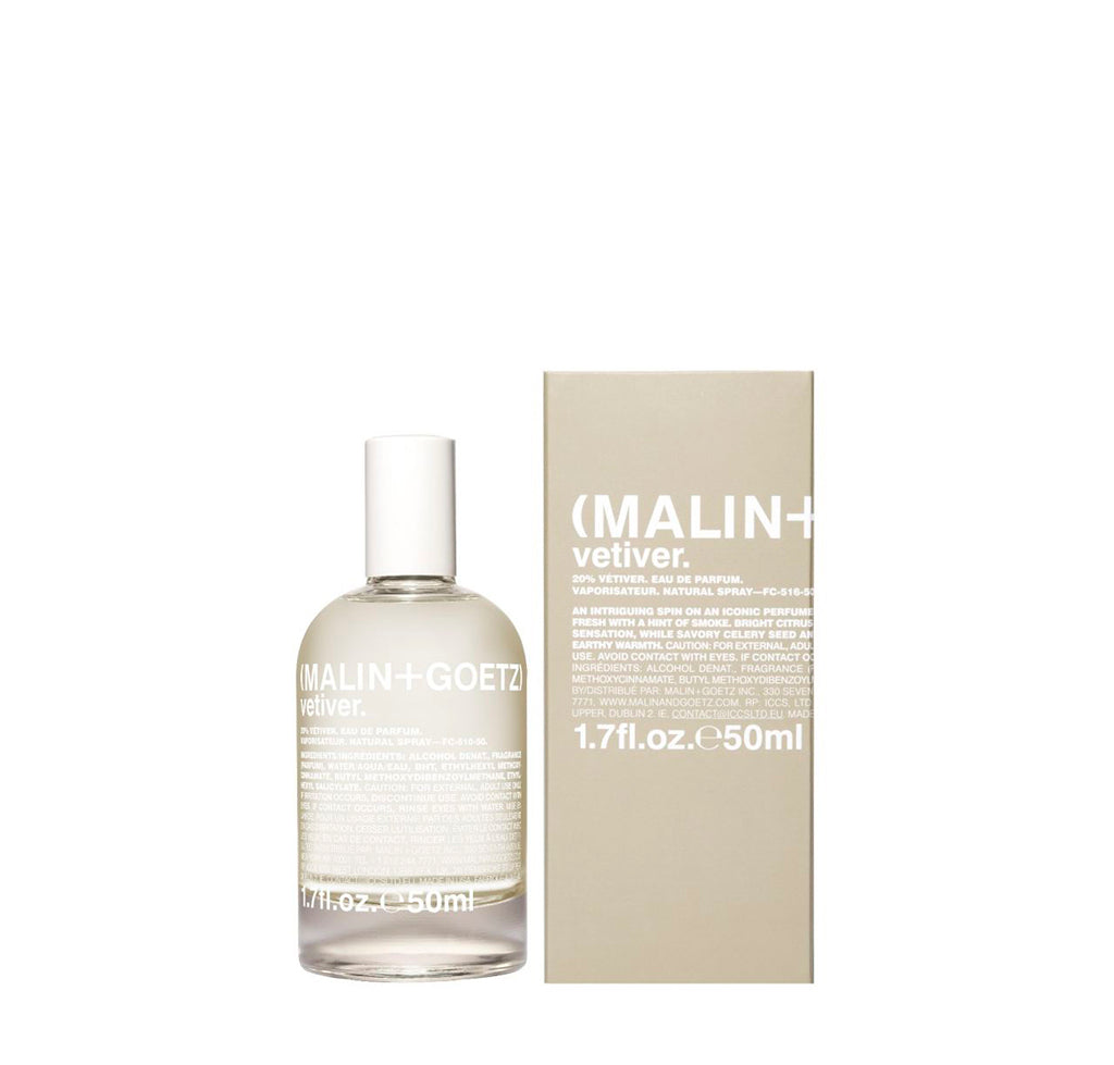 Malin + Goetz Vetiver Eau De Parfum: 50ml - The Union Project