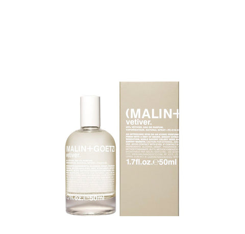 Malin + Goetz Vetiver Eau De Parfum: 50ml