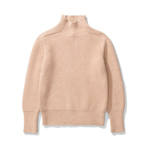 Norse Projects Women's Victoria Alpaca: Utility Khaki
