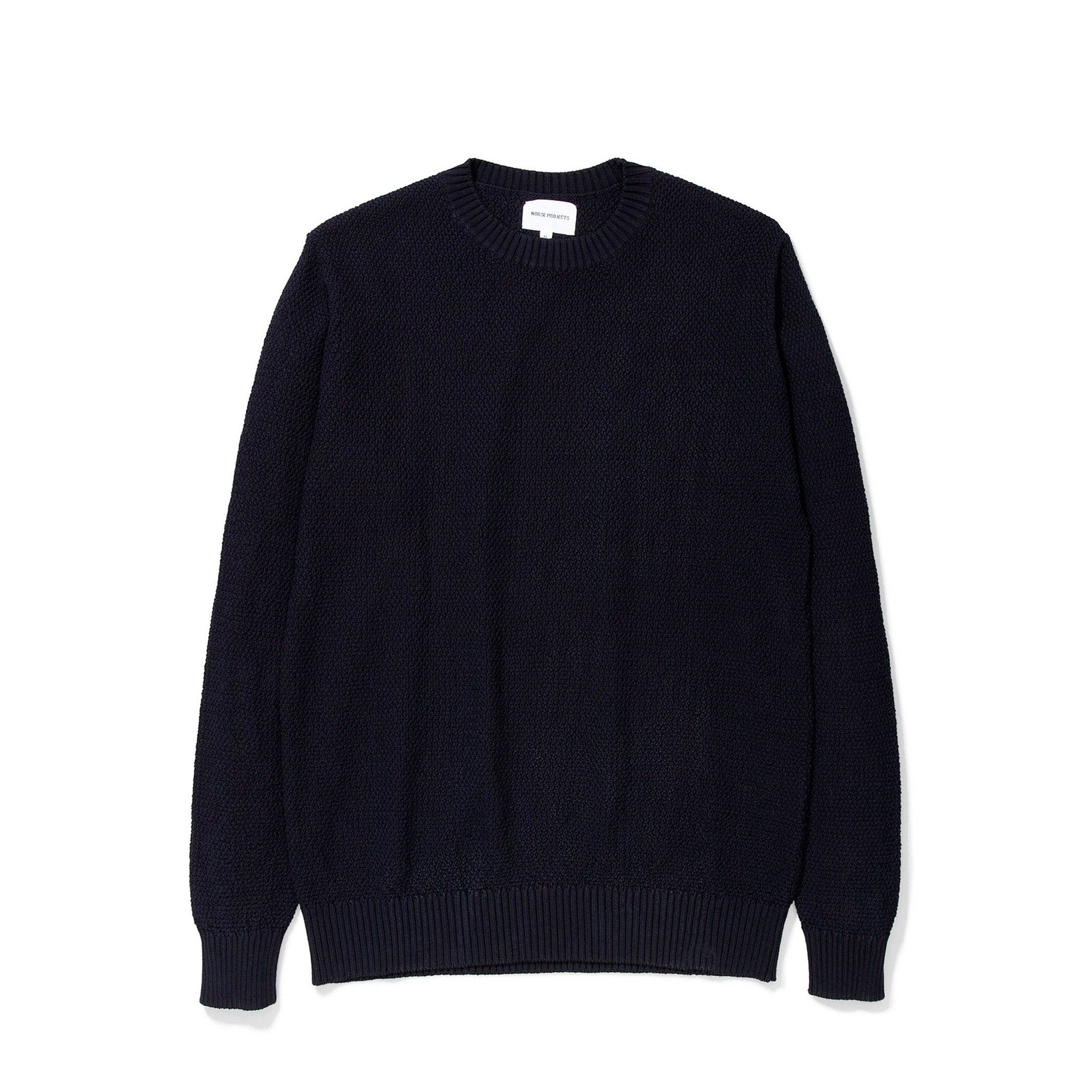 Norse Projects Viggo Moss Stitch: Dark Navy - The Union Project