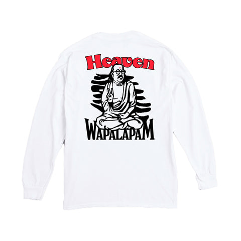 T-Shirts Reception Wapalapam Longsleeve T-Shirt: White - The Union Project, Cheltenham, free delivery
