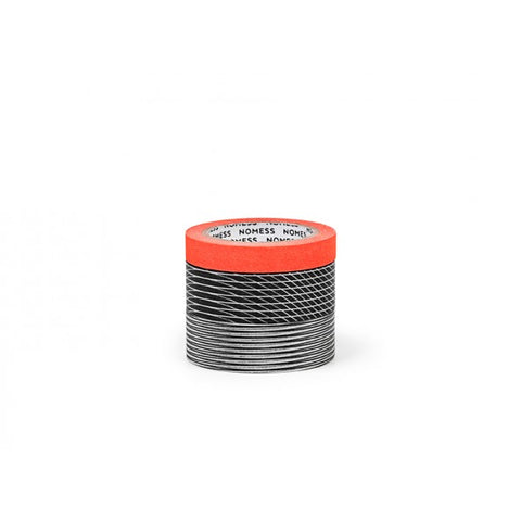 Nomess Washi Tape (3pcs): Grid/Orange