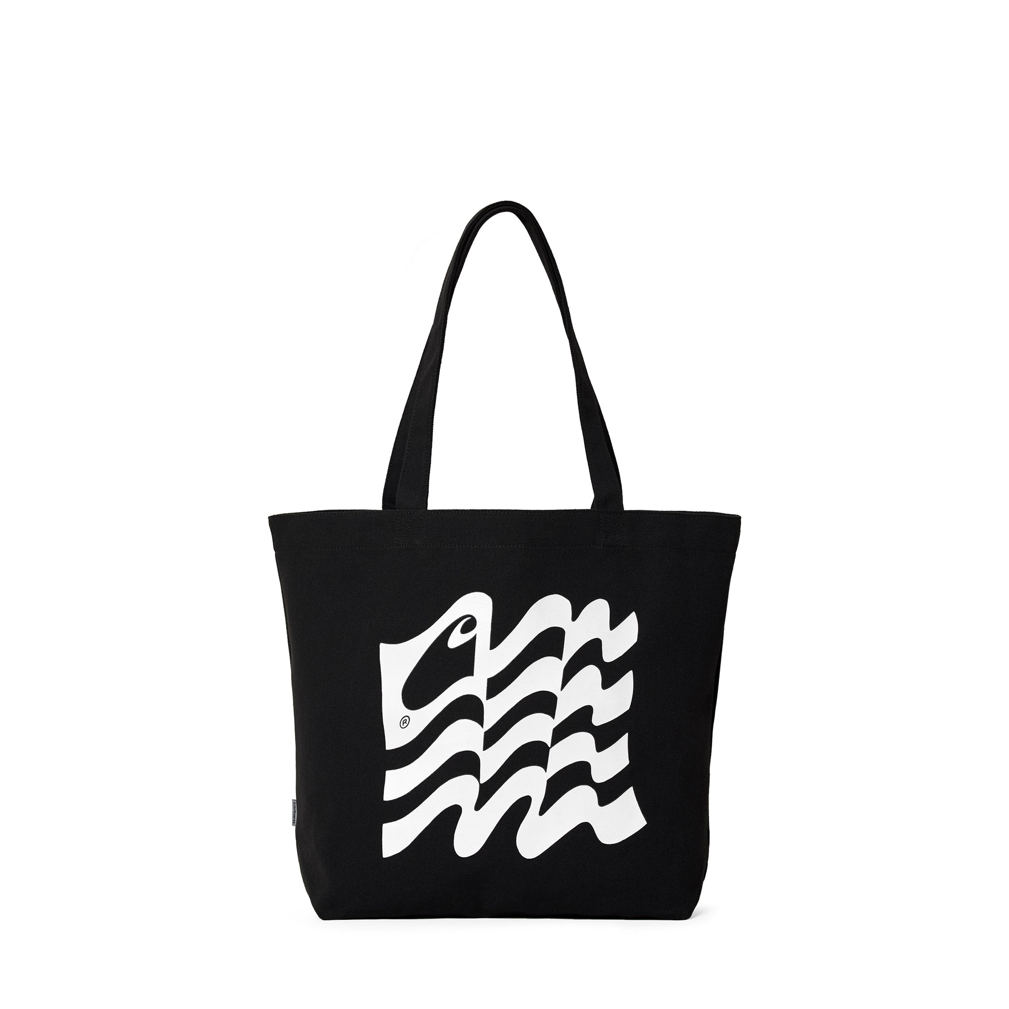 Carhartt WIP Wavy State Tote: Black / White - The Union Project