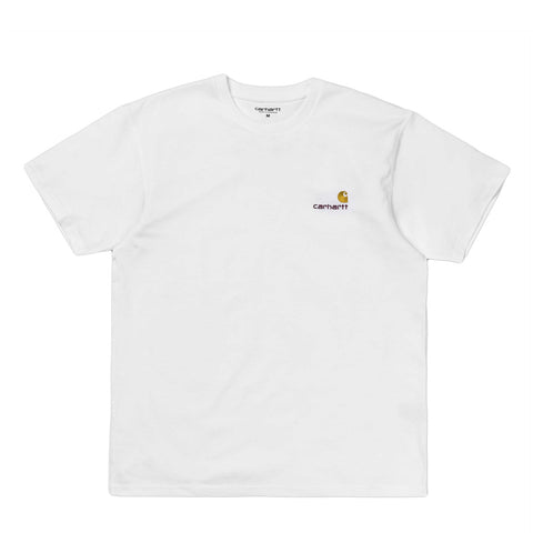 T-Shirts Carhartt WIP American Script T-Shirt: White - The Union Project