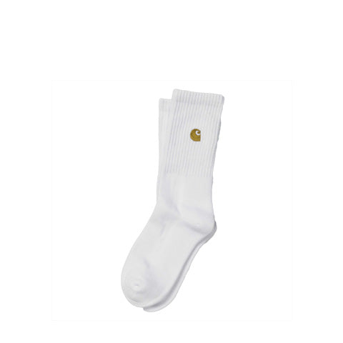 Socks Carhartt WIP Chase Sock: White - The Union Project, Cheltenham, free delivery
