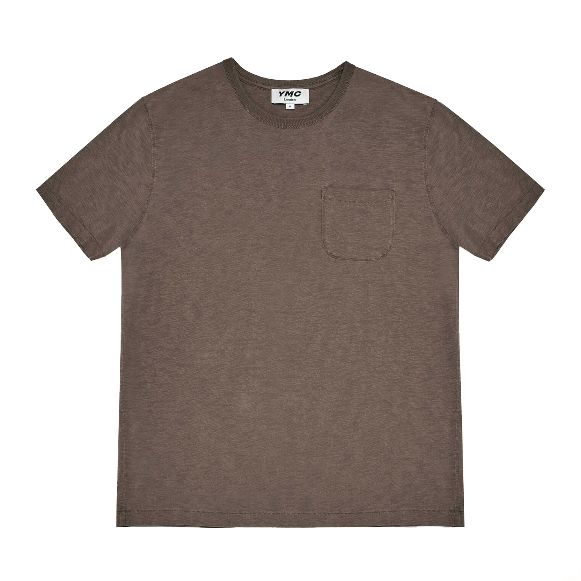 YMC Wild Ones Pocket T-Shirt: Dark Olive - The Union Project