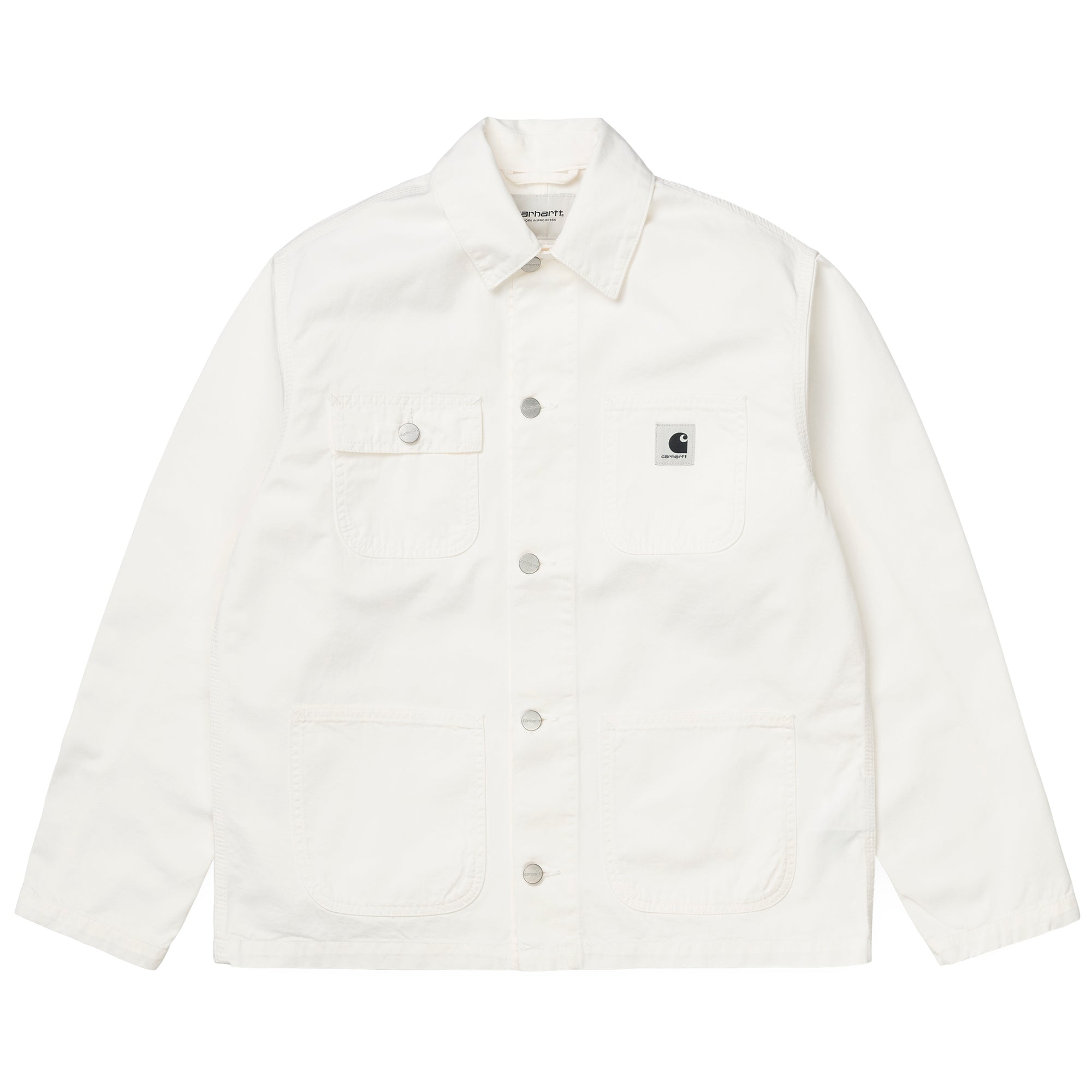 Carhartt WIP Womens Michigan Coat: Off White - The Union Project