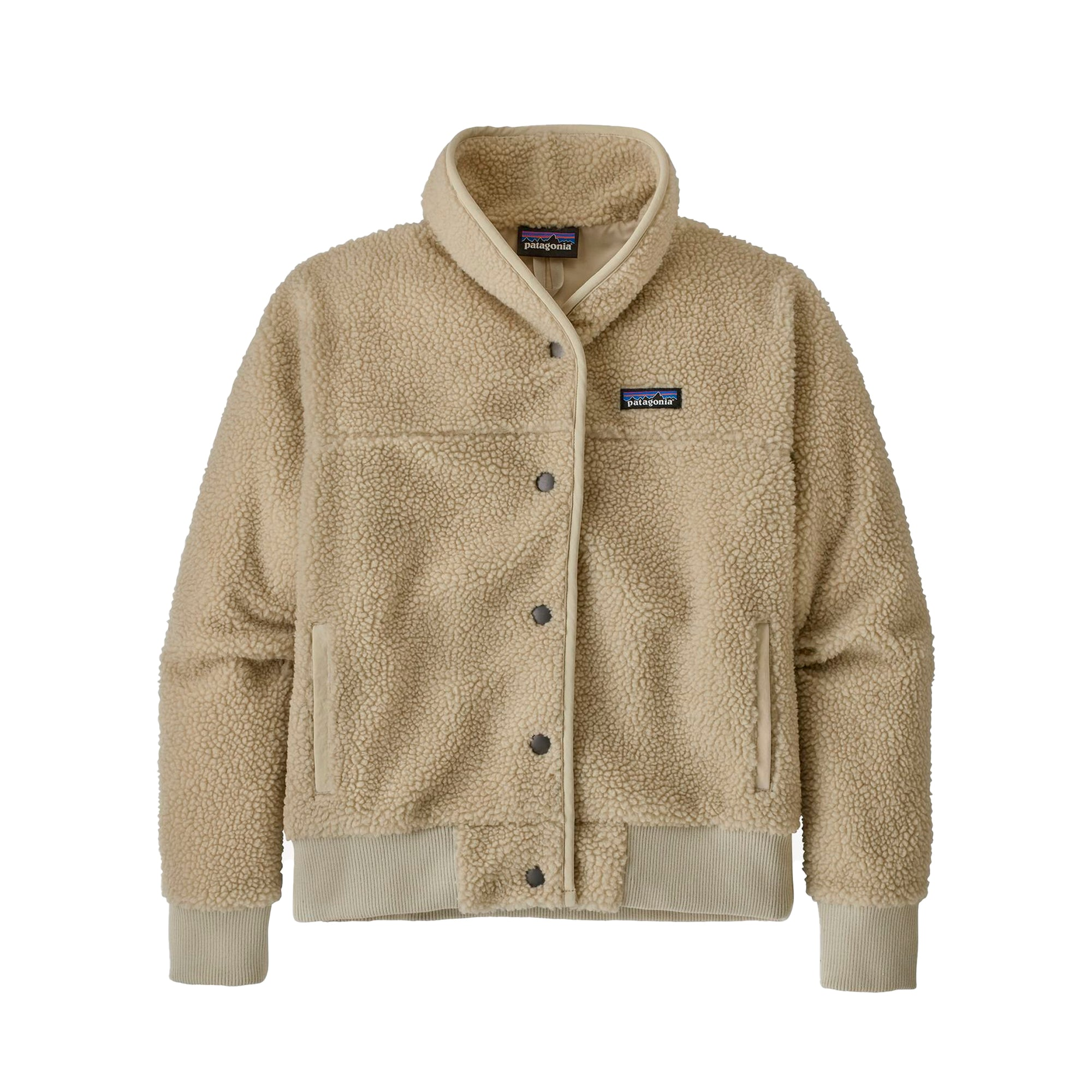 Patagonia Womens Snap Front Retro-x Jacket: Pelican - The Union Project