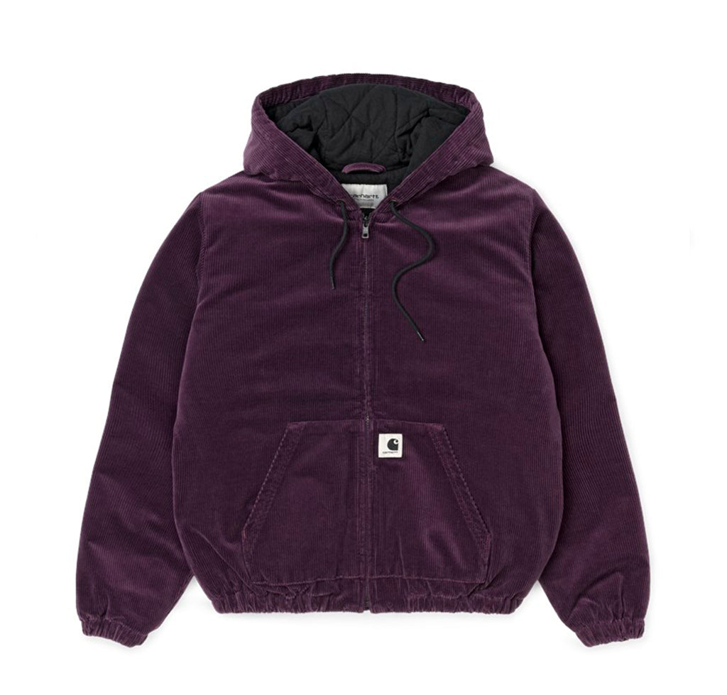 Carhartt WIP Womens Timber Jacket: Boysenberry Rinsed - The Union Project