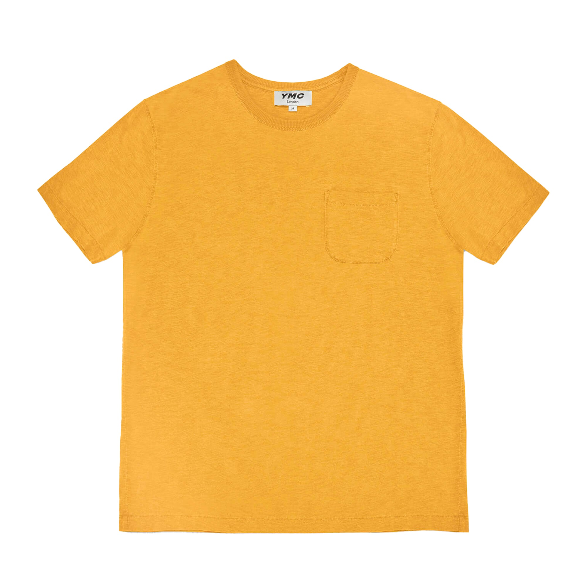 YMC Wild Ones Pocket T-Shirt: Yellow - The Union Project