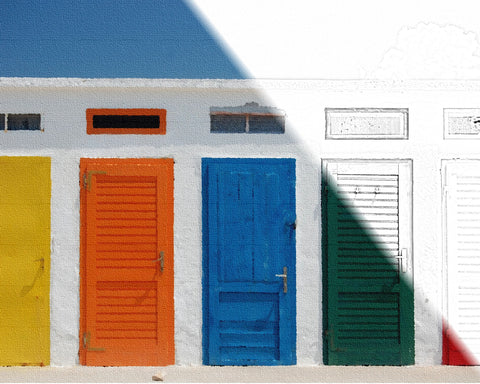 5 Colorful Doors