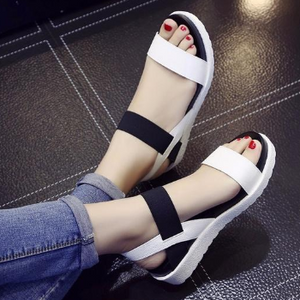 Genuine Leather Ladies Summer Sandals