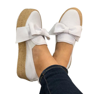 Spring Slip On Casual Ladies Canvas Shoes - Nads Shoes