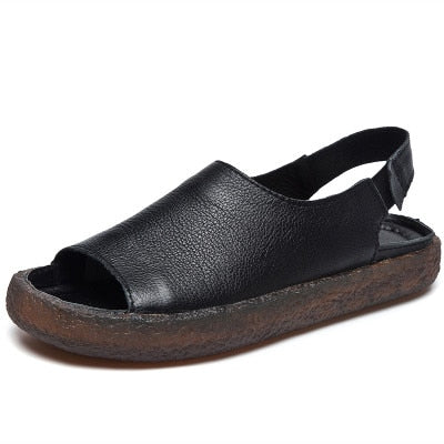 Genuine Leather Handmade Sandals - Nads Shoes