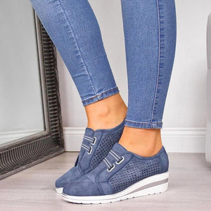 New Platform Ladies Casual Sneakers - Nads Shoes