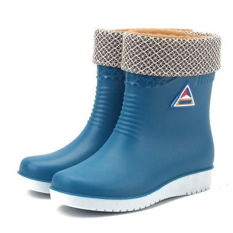 Waterproof Anti Skid Winter Rainboots