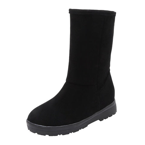 Warm Suede Winter Snow Boots - Nads Shoes