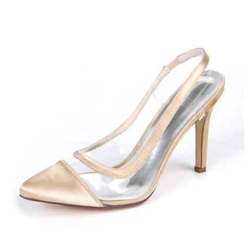 Slingback Pointed Toe Ladies Pumps - Nads Shoes