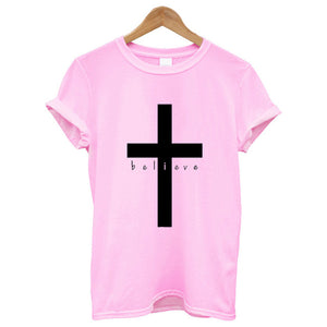 Believe Cotton T Shirt