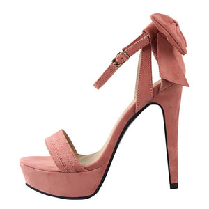 Butterfly High Heel Shoes For Women
