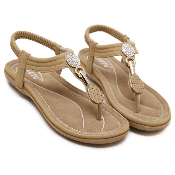 Soft Flat Sandals For Women - Nads Shoes
