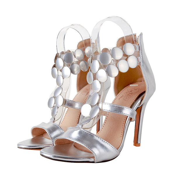 Women's High Heel Bridal Sandals - Nads Shoes