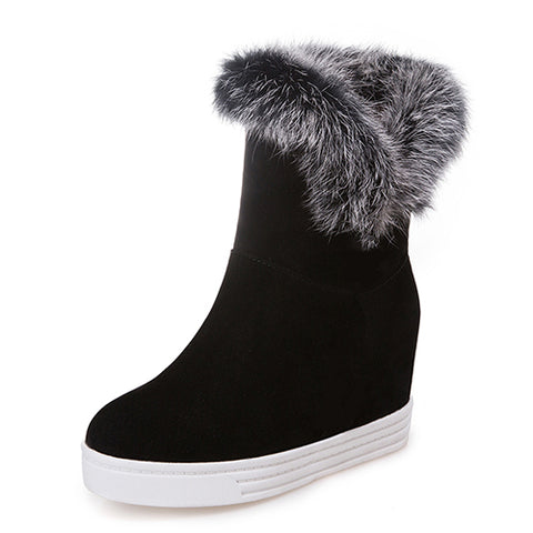 Platform Warm Winter Fashion Boots For Women - Nads Shoes