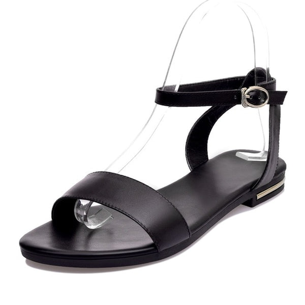Genuine Leather Summer Stylish Sandals - Nads Shoes
