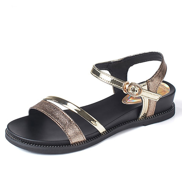 Summer Fashion Women's Gladiator Flat Sandals - Nads Shoes