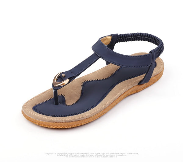 Women's Flat Casual Soft Sandals - Nads Shoes