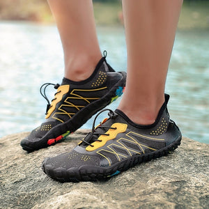 Ladies Grip Sure Outdoor Non Slip Hiking Shoes - Nads Shoes