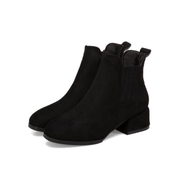 Ladies Chelsea Ankle Boots - Nads Shoes