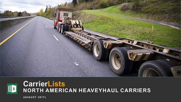 North America Heavy Haulers - 650 carriers
