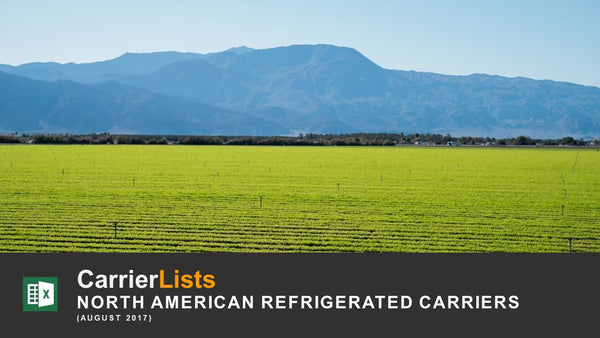North American Refrigerated Carriers - 3,700 carriers
