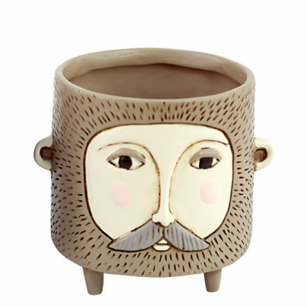 Hairy Jack Brown Planter - Baby