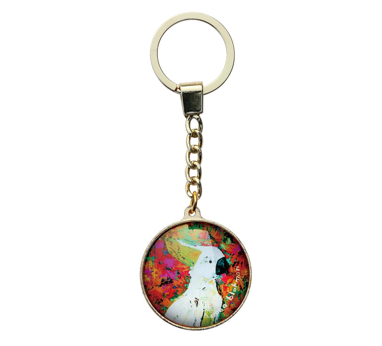 Australiana Keyring - Kenny the Cockatoo