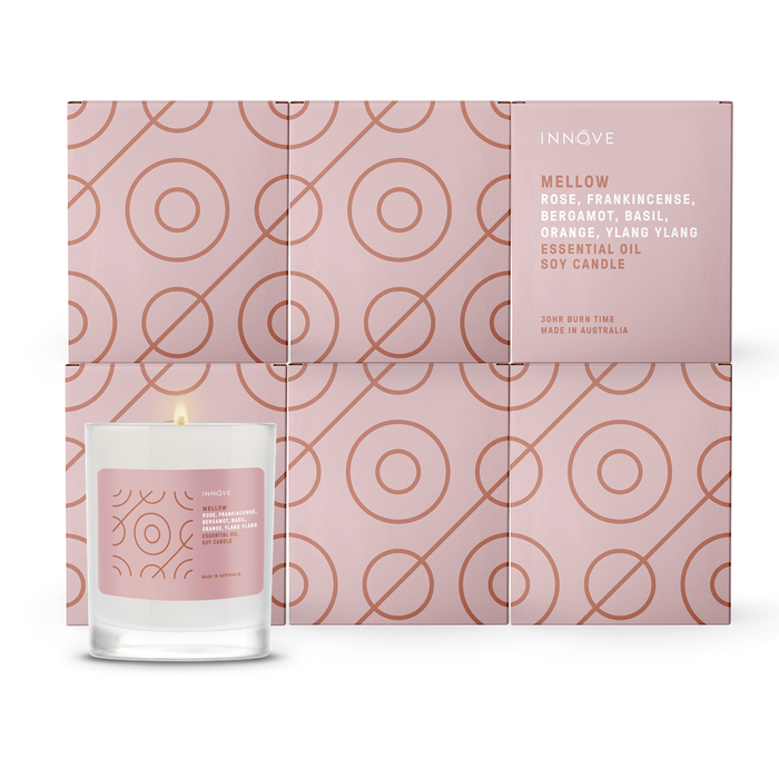 Essential Oil Soy Candle - Mellow