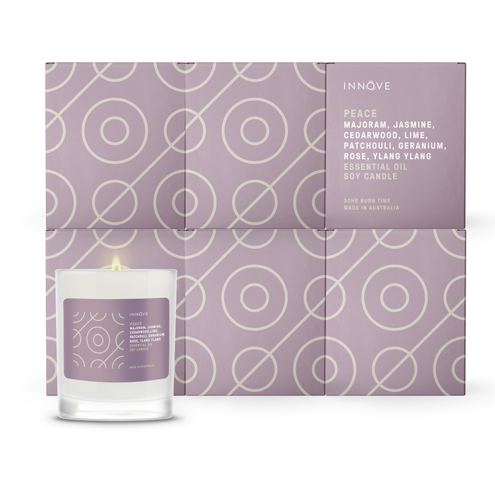 Essential Oil Soy Candle - Peace