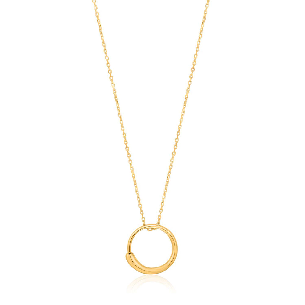 Luxe Circle Necklace - Gold