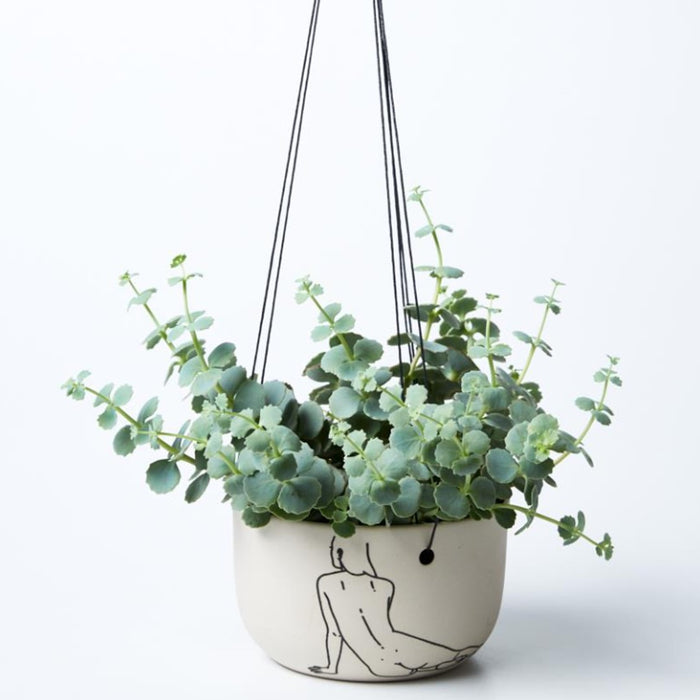Nude Recline Hanging Planter
