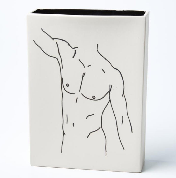 Nude Stretch Vase
