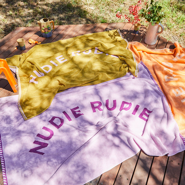 Taffy Nudie Rudie Towel - Pear