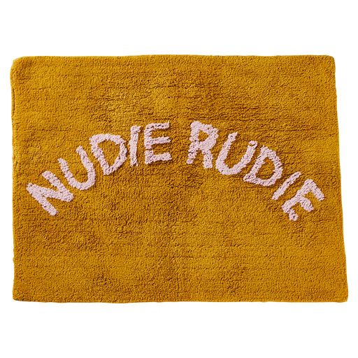 Tula 'Nudie Rudie' Bath Mat - Pear