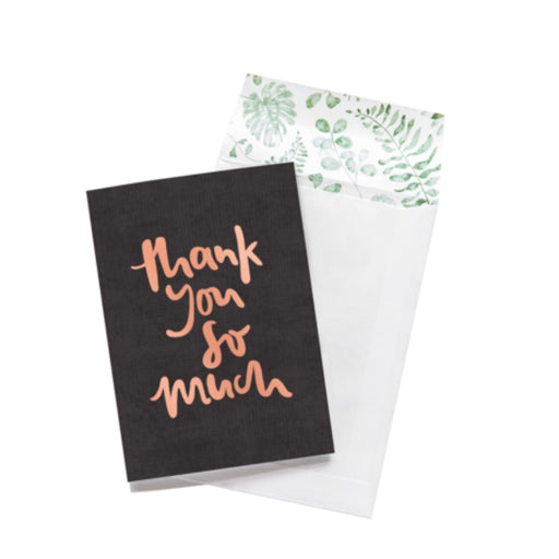 Greeting Card - Thank You So Much