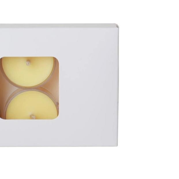 Soy Tealights - 6 Pack, Lemongrass & Lime